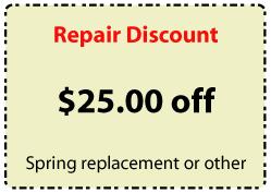 Repair Discount Coupon