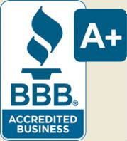 Sentry Houston BBB A+ Rating Logo
