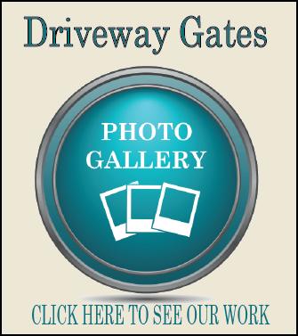 Driveway gate Houston photo gallery button