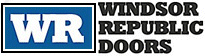 Residential garage doors by Windsor Republic logo
