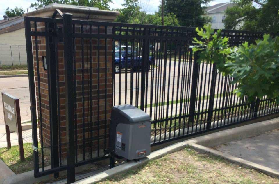 Apartment Gates Houston Tx Sentry Garage Door Amp Gate