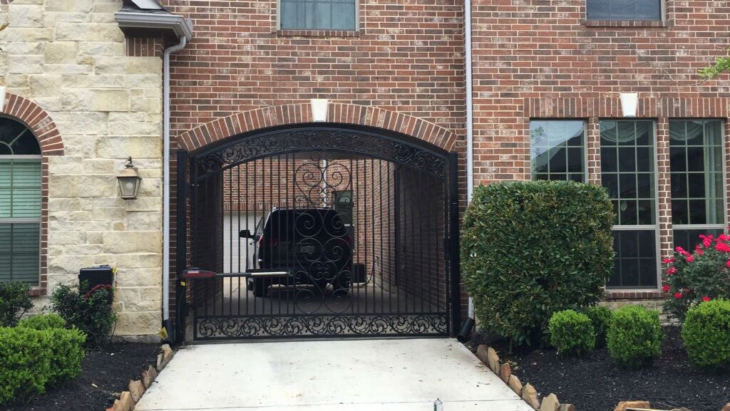 Sugar Land Driveway Gate Stunning Design Sugar Land Tx