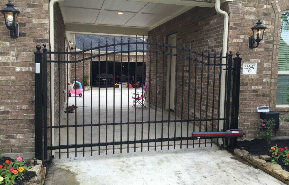 Driveway Gate Houston Texas Sentry Garage Door Amp Gates