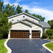 Tomball garage door supplier completed project