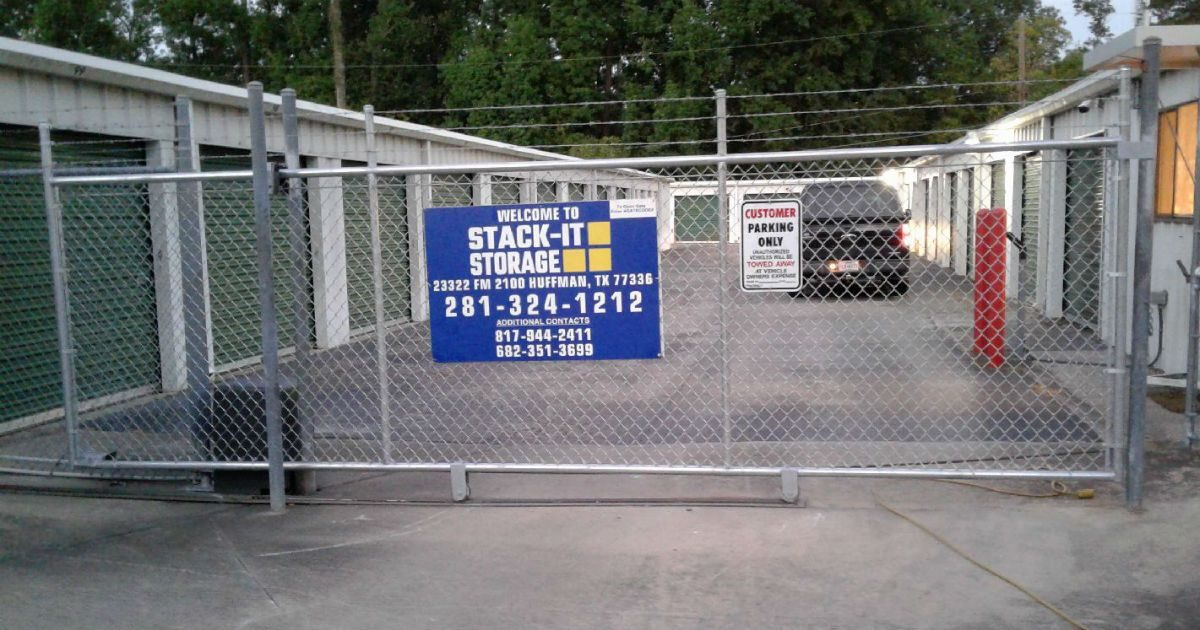 Chain Link Fence Security Gate Houston Chain Link Fences