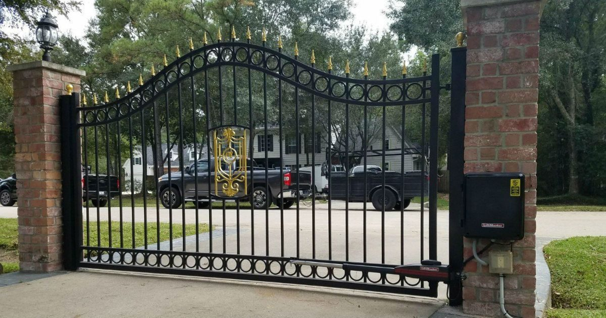 Decorative Driveway Gate ~ Sentry Garage Door & Gates